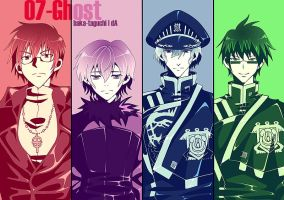 07ghost +Monochrome+ by Baka-Taguchi
