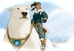 The Legend of Korra by Spirit-Raava