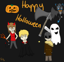 Happy Halloween by IronMeow