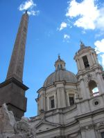 The Church and Obelisk by Artsee1