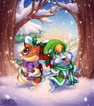 Holiday Hamsters by AmandaDaHamster