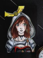 ACEO #003 - Rosemary C. DeLara (Commission) by Jaspara