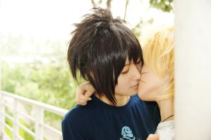 sasunaru_goodbye kiss:* by Lilia92x