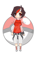 Pokeball gijinka adoptable [closed] by WTFadopts