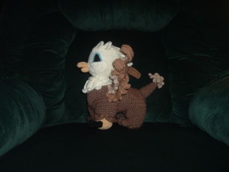 Baby Griffin crochet by Nanettew9