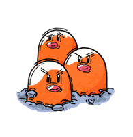 Dugtrio by dburch01
