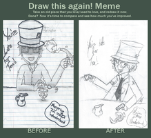 Kyle Mad Hatter- Draw This Again Meme by TheRealTDAGeena