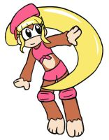 Dixie Kong by enchantedtoast