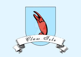Coat of Arms Claw Isle by engineerJR