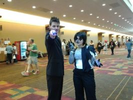 At Popcon with the Doctor by shadowlover40