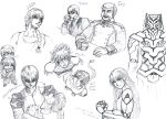 Leon and Taer Doodles by BabakoSen