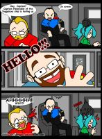 Meanwhile on the HMS-TGS... Jesse Cox is DEAF!! by Chibi-Warmonger