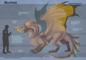 Bhu-Kelak - Species Sheet by Ulario