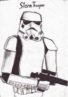 Stormtrooper by momentscomic