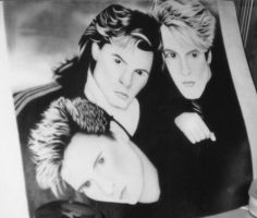 Duran Duran Poster by room7609