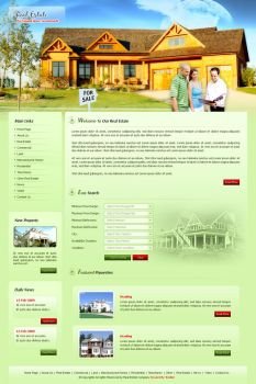Real Estate Company by stardexign
