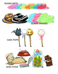 Monster Cafe Food by tandemonium