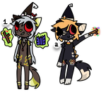 witch fox auctions ! open ! by vaatey
