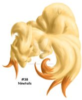 Ninetails by GrayWolfShadow