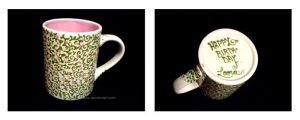 vines of rose mug by Petra-