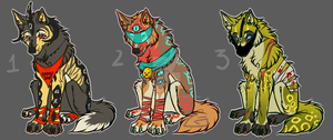 Wolf Adoptable auction PAYPAL/POINTS [CLOSED] by Marlonthegreenwolf