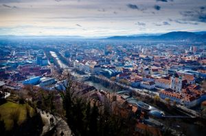 Graz 'skyline' in the autumn by AustrianPictures