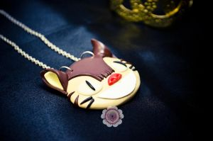 CatBus Long Necklace by KawaiiRoxX