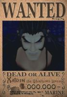 Xaldin Wanted Poster by SoraKing