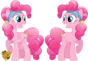 -V- Crystal Pinkie Pie by Pirill-Poveniy