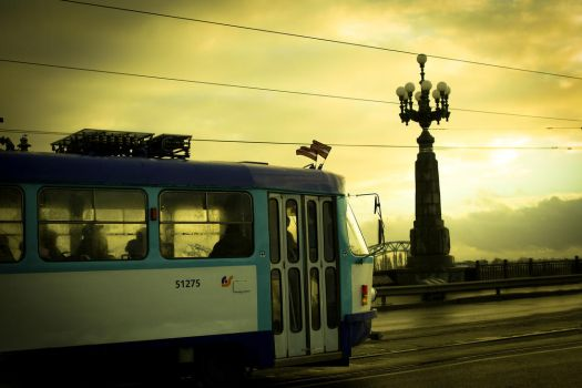 The Tram by LeeAnnGlenn