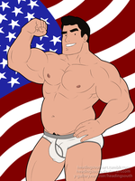 Commission: American Dilf by headingsouth