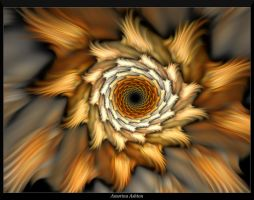 Auger Spiral 2 by AmorinaAshton