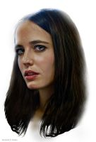 Eva Green by kenernest63a