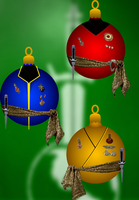 ST TOS Mirror Uniform Ornaments by Richard67915
