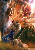 Deception of Glaurung by noei1984