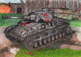 PzKpfw IV Totenkopf SS 41 by Impostor1