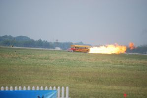 Yes, it's a flaming school bus by Bodatheyoda