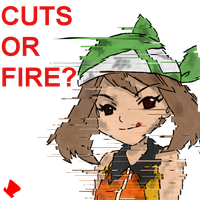 Twitch Plays Pokemon - Cuts or Fire? by MadHatter-Himself