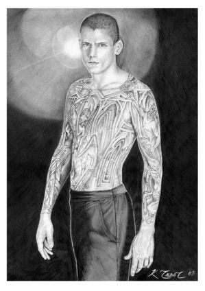 michael scofield tattoos. Miller as Michael Scofield