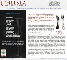 Website: Chelsea Plating Co. by deadheir