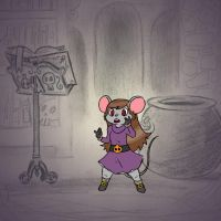 Angela's Magic Lesson - Mousey by Mr-DNA