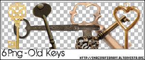 Old Keys PNG - set 16 by pinkshadoww
