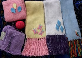 Cutie Mark Scarves by nalina