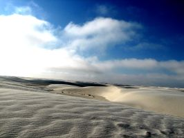 WHITE SANDS BLUE SKIES by CorazondeDios