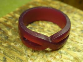 Wax carving of a ring by nellyvansee