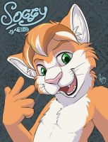 MFF badge: Soggy Master by pandapaco