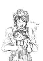Bilbo and Frodo by sey-kurohashi