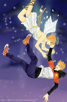 APH - The Falling Star and the Angel by chibi-rice-ball-chan
