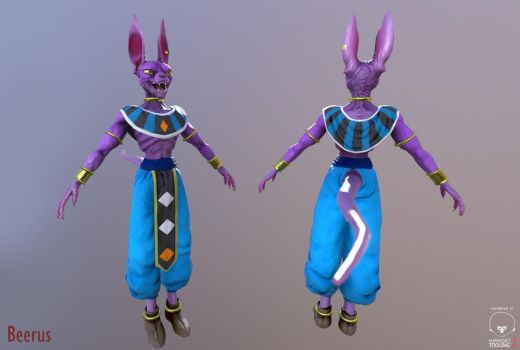 Beerus 3D by pasco295