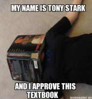 Tony Stark Approves by Capt-Muteki